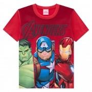 Camiseta Meia Manga Brandili Avengers - 4 ao 10