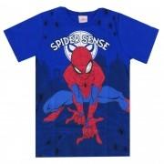 Camiseta Meia Manga Brandili Homem Aranha - 4 ao 10