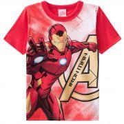 Camiseta Brandili Homem de Ferro - 4  ao 10