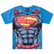 Camiseta Meia Manga Brandili Superman - 4 ao 10