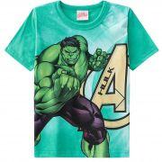 Camiseta Brandili Hulk Vingadores - 4 ao 10