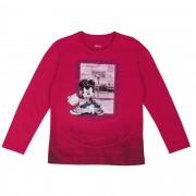 Camiseta Cativa Estampa Relevo Mickey Jogando Basquete - 4 ao 10