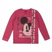 Camiseta Cativa Estampa Relevo Mickey Mouse Pensativo - 4 ao 10