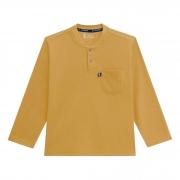 Camiseta Manga Longa Açucena Onda Marinha Com Bolso - 4 ao 10
