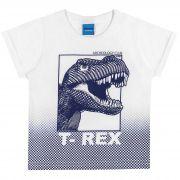 Camiseta Romitex Wyrky Dinossauro - 1 ao 3