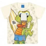 Camiseta Meia Manga Romitex Wyrky Jacaré Surfista - 1 ao 3