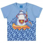 Camiseta Romitex Wyrky Tubarão - 1 ao 3