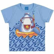 Camiseta Meia Manga Romitex Wyrky Tubarão - 1 ao 3