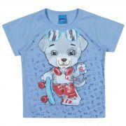 Camiseta Romitex Wyrky Urso Skatista - 1 ao 3