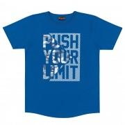 Camiseta Meia Manga Romitex Wyrky Push Your Limit - 12 ao 18