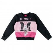 Conjunto Cativa Estampa Glitter Minnie Recortes - 4 a 8