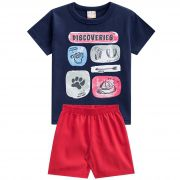 Conjunto Brandili Club Discoveries - 1 ao 3