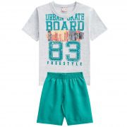 Conjunto Brandili Club Urban Skate Board Freestyle - 4 ao 10