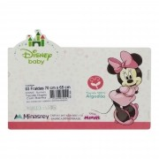 Fralda Minasrey Disney Borada Três Unidades - Minnie