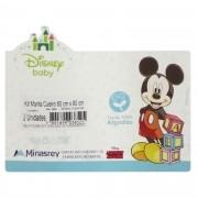 Kit Cueiro Minasrey Disney Duas Unidades Estampado - Mickey