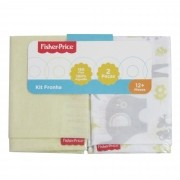 Kit Fronha Incomfral Fisher-Price - Amarelo Claro