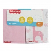 Kit Fronha Incomfral Fisher-Price - Rosa Claro