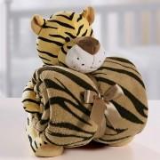 Kit Manta Bouton – Tigre – Bege