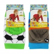 Kit Meia Winston Joelheira c/2 pares Fun Socks - 0/12 meses