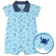 Macacão de Verão Kiko Baby Caranguejo - P ao G