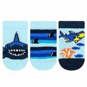 Meia Kit Everly 3 pares - Tubarão - RN e BB