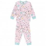 Pijama Inverno Brandili Unicórnio - 1 ao 3