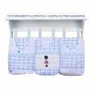 Porta Fraldas Estampado com 3 pcs - Minasrey - Circus Loupiot