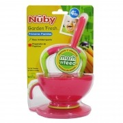 Preparador de Papinhas Cajovil Nûby +4M - Pink