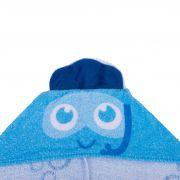 Toalha 3D Incomfral Babyjoy - Tartaruga Azul
