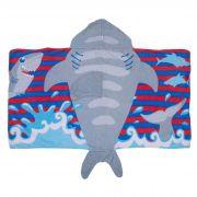Toalha 3D Incomfral Babyjoy - Tubarão