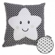 Travesseiro Bordado Estrela - Minasrey - Mini Herdeiros