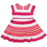 Vestido Alenice Aplique Laço - 01 ao 03