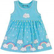 Vestido Brandili Baby Estampa Arco Íris - P ao G