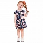 Vestido Verão Brandili Florido com Laço - 1 ao 3