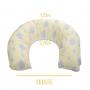 Almofada de Amamentação - Incomfral - BabyJoy - Amarelo