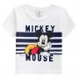 Conjunto Verão Brandili Camiseta Mickey Mouse com Bermuda Moletinho - P ao G