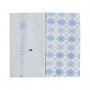 Kit com 2 fronhas - Minasrey - Circus Loupiot - Azul