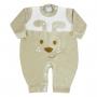 Macacão Inverno Plush Petutinha Bordado Cãozinho - RN ao G