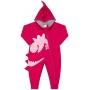 Macacão Pijama Inverno Vrasalon Moletom Dinossauros - P ao G