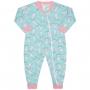 Macacão Pijama Inverno Vrasalon Soft Unicórnios - 04 ao 08