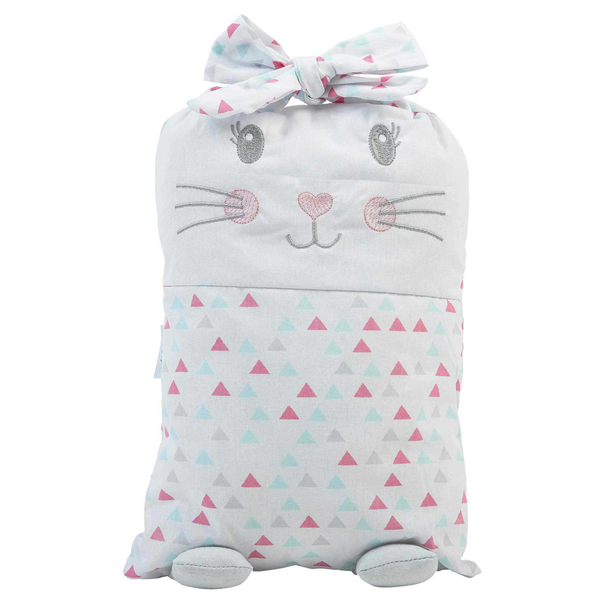 Almofada Mimiu Estampado com Bordado - Incomfral - Baby Joy Trends