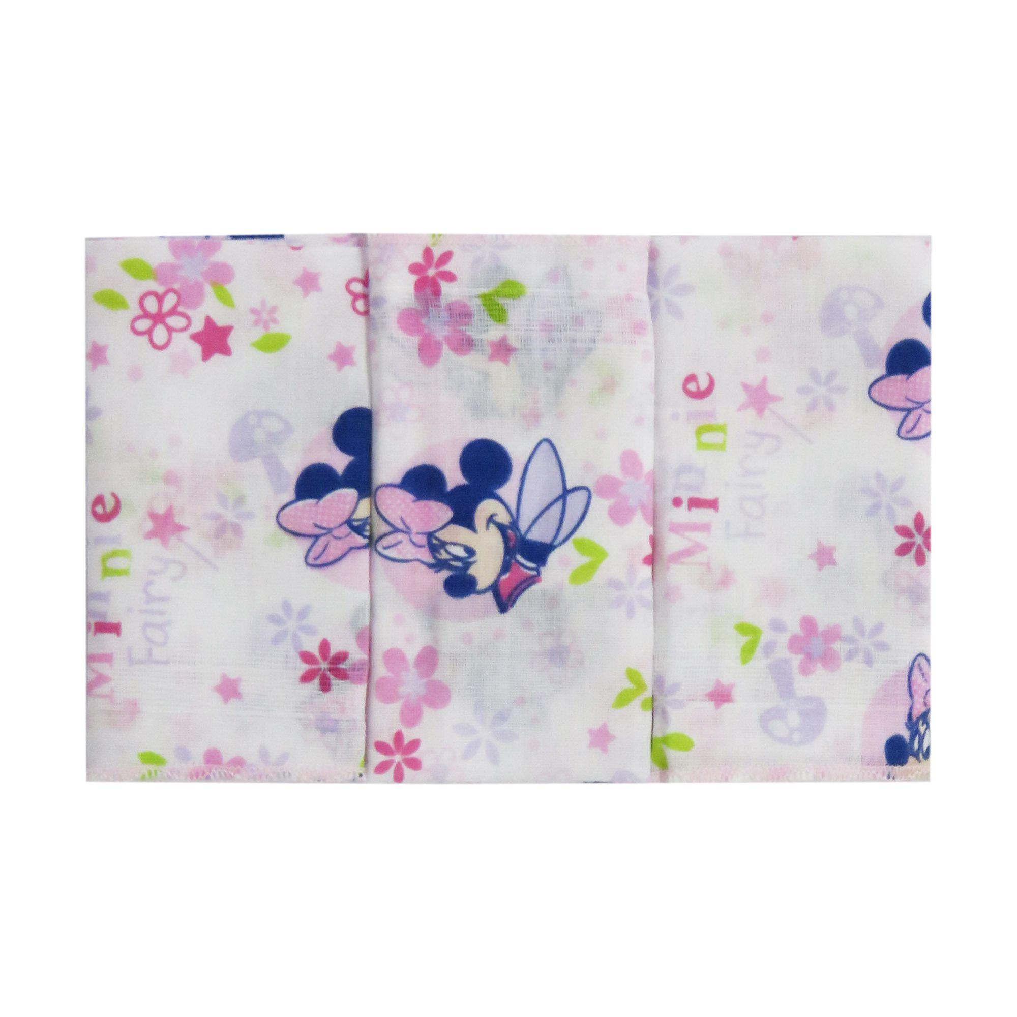 Babetes c/3 Minasrey - Disney Baby - Azul