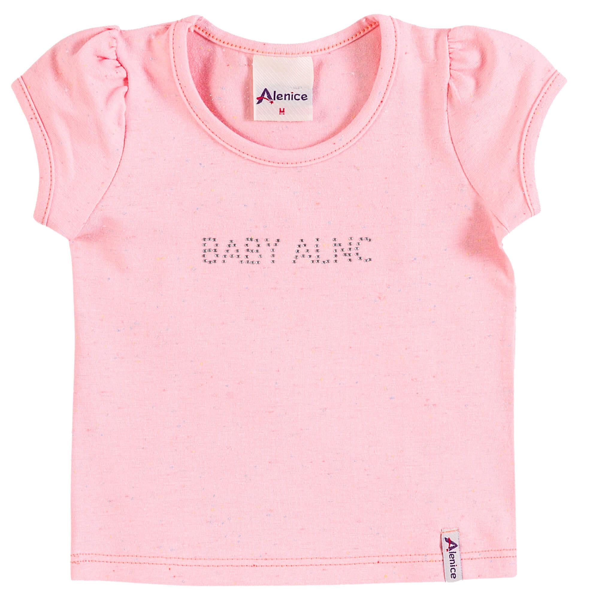 Blusa Meia Manga Alenice Baby ALNC - 1 ao 3