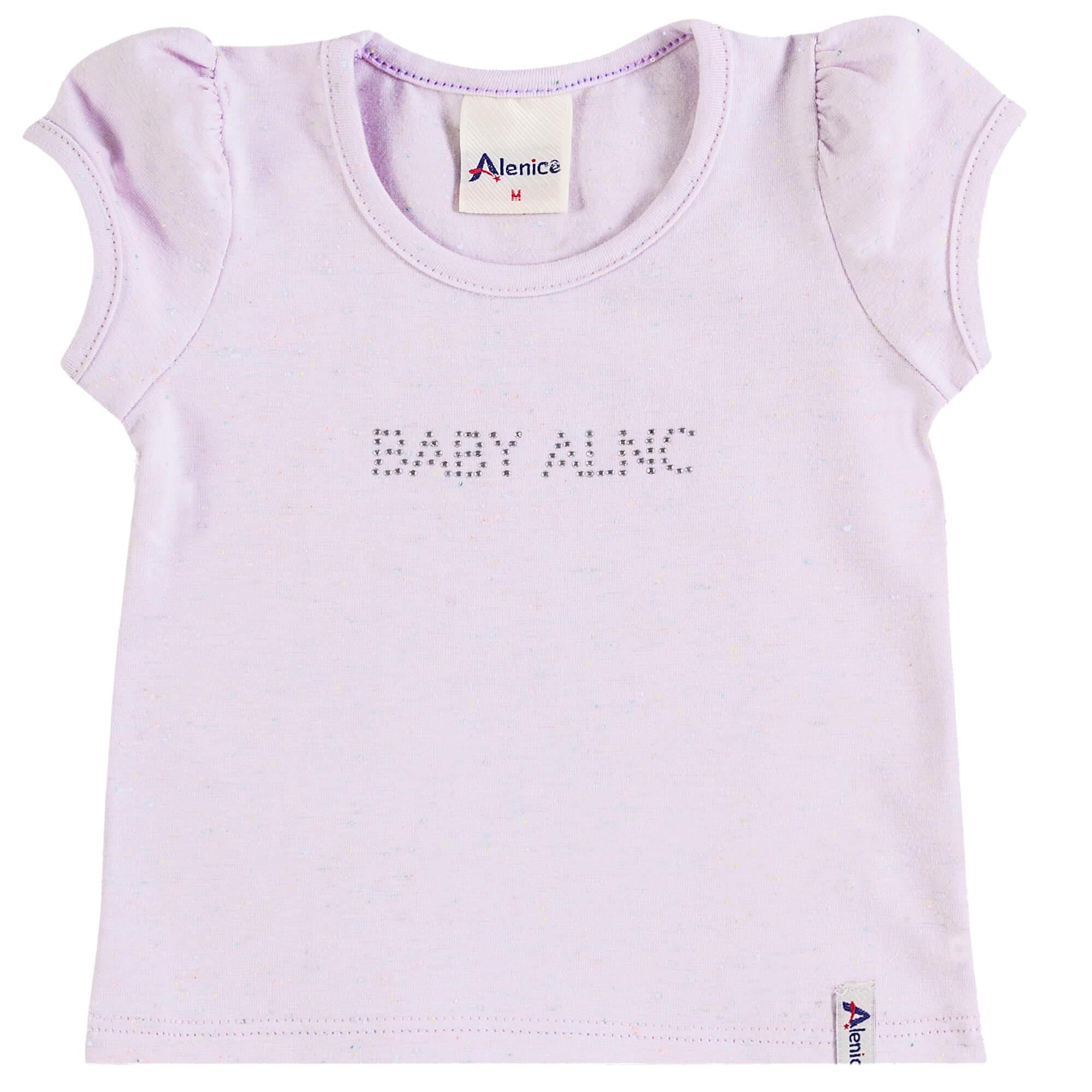 Blusa Meia Manga Alenice Baby ALNC - P ao G