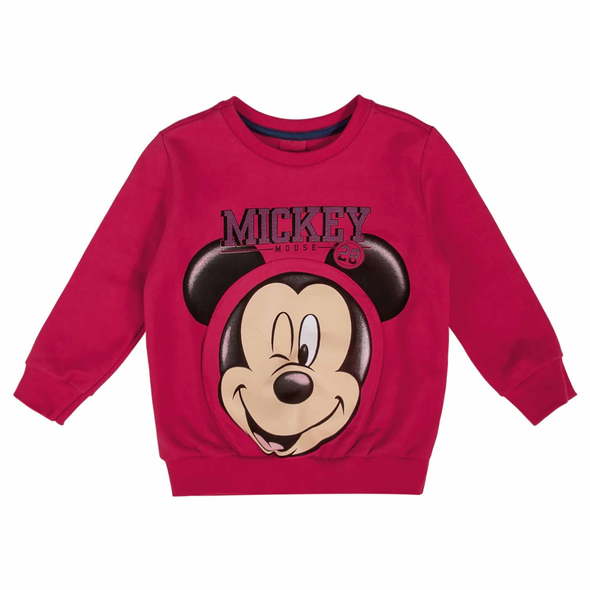 Blusão Cativa Estampa Mickey Piscando - 1 ao 3
