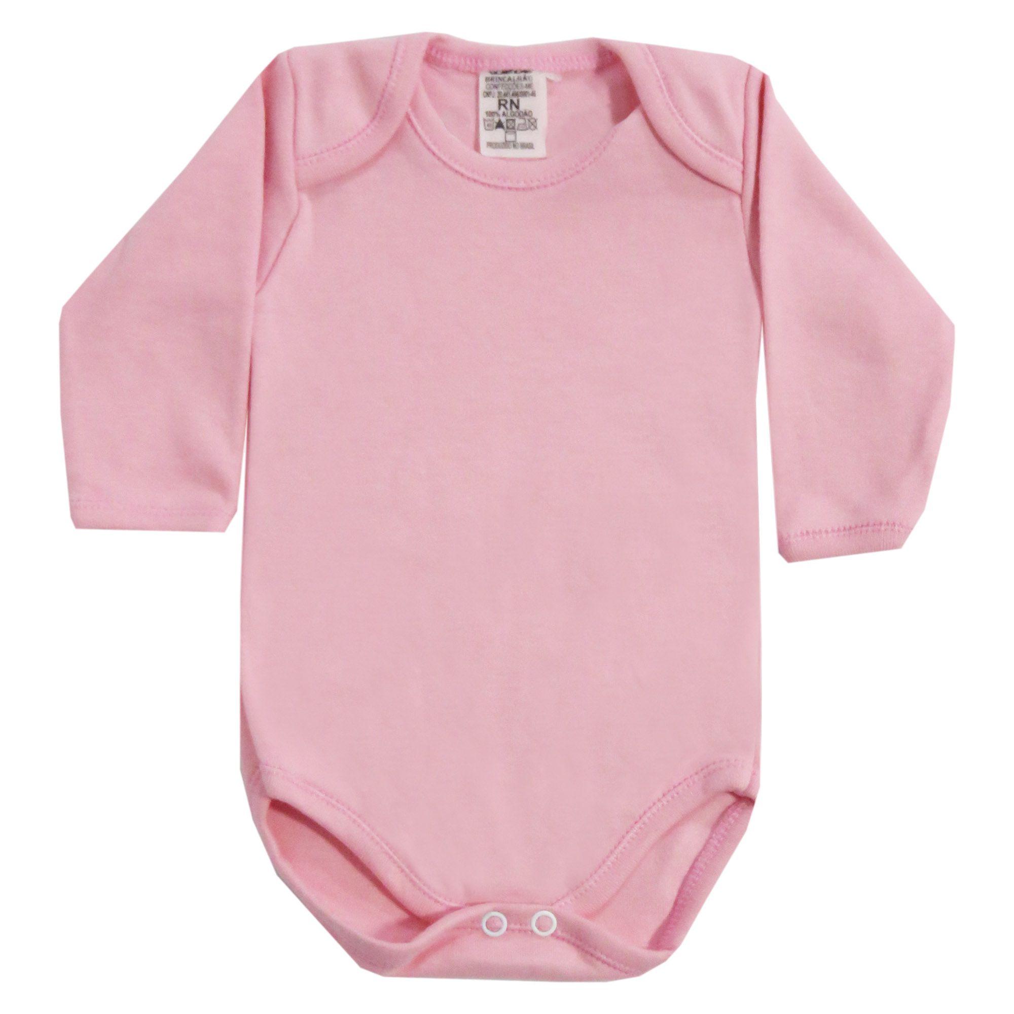 Body Bebê Brincalhão Liso - RN ao G