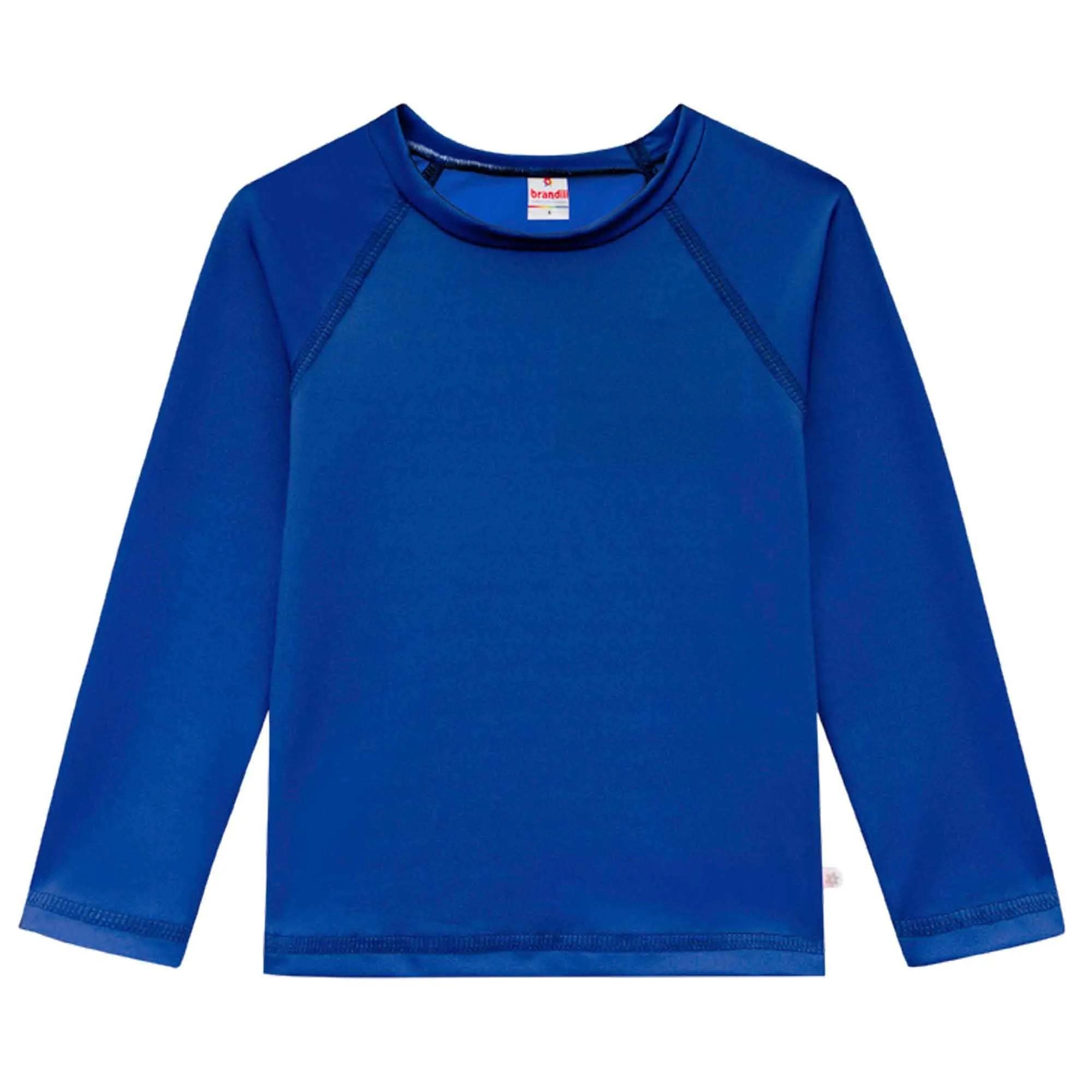 Camiseta Manga Longa Brandili - Malha UV - 1 ao 3