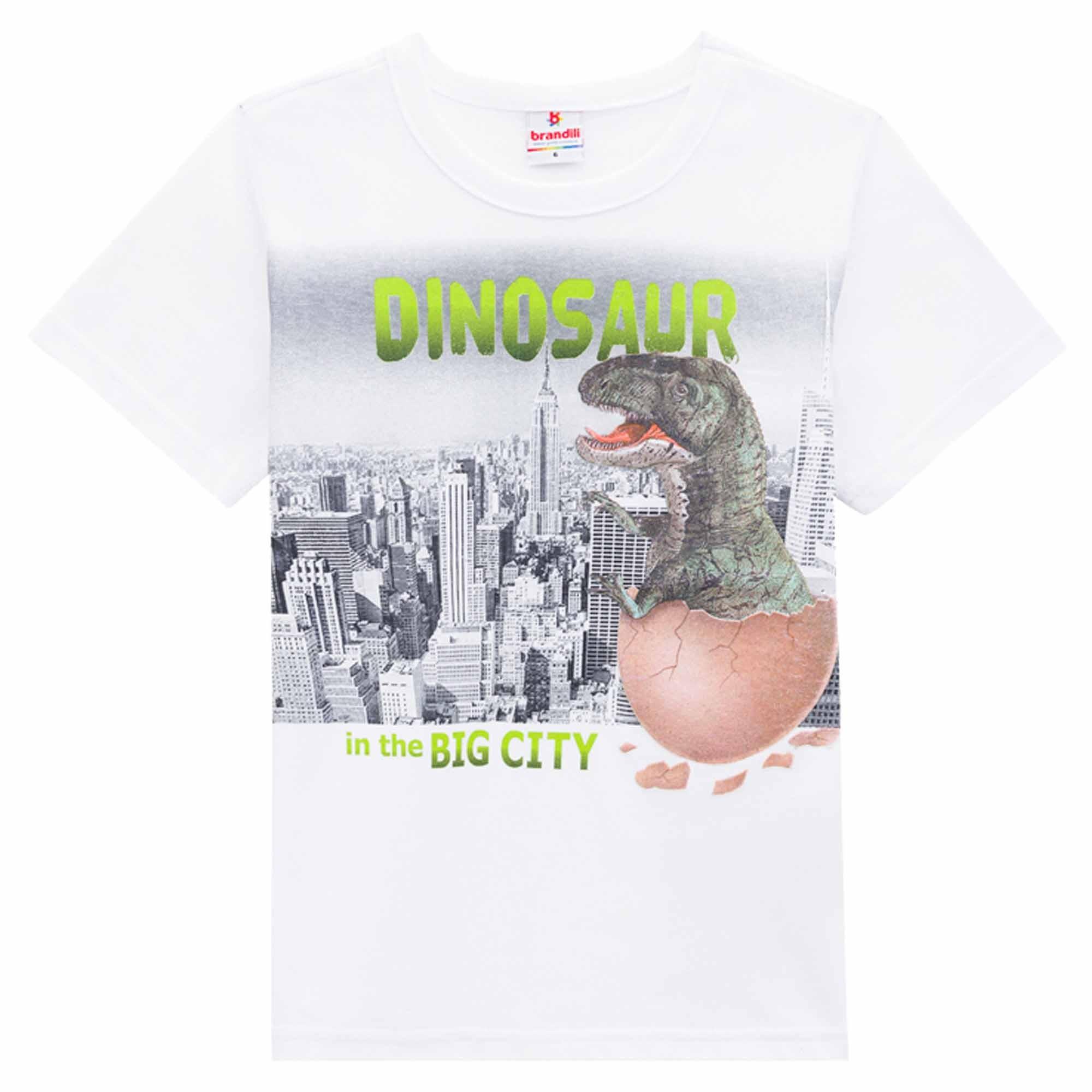 Camiseta Meia Manga Brandili Ovo Mágico - 4 ao 10