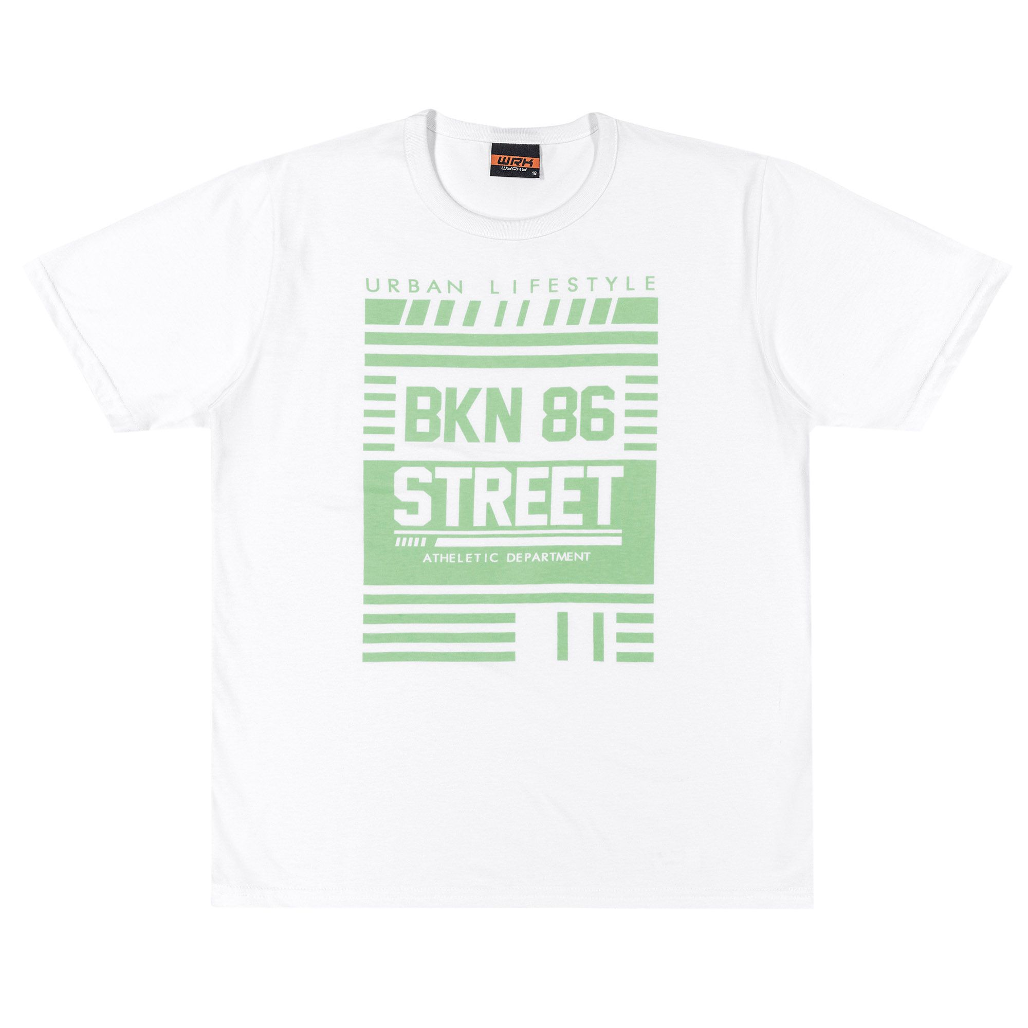 Camiseta Meia Manga Romitex Wyrky BKN 86 - 12 ao 18