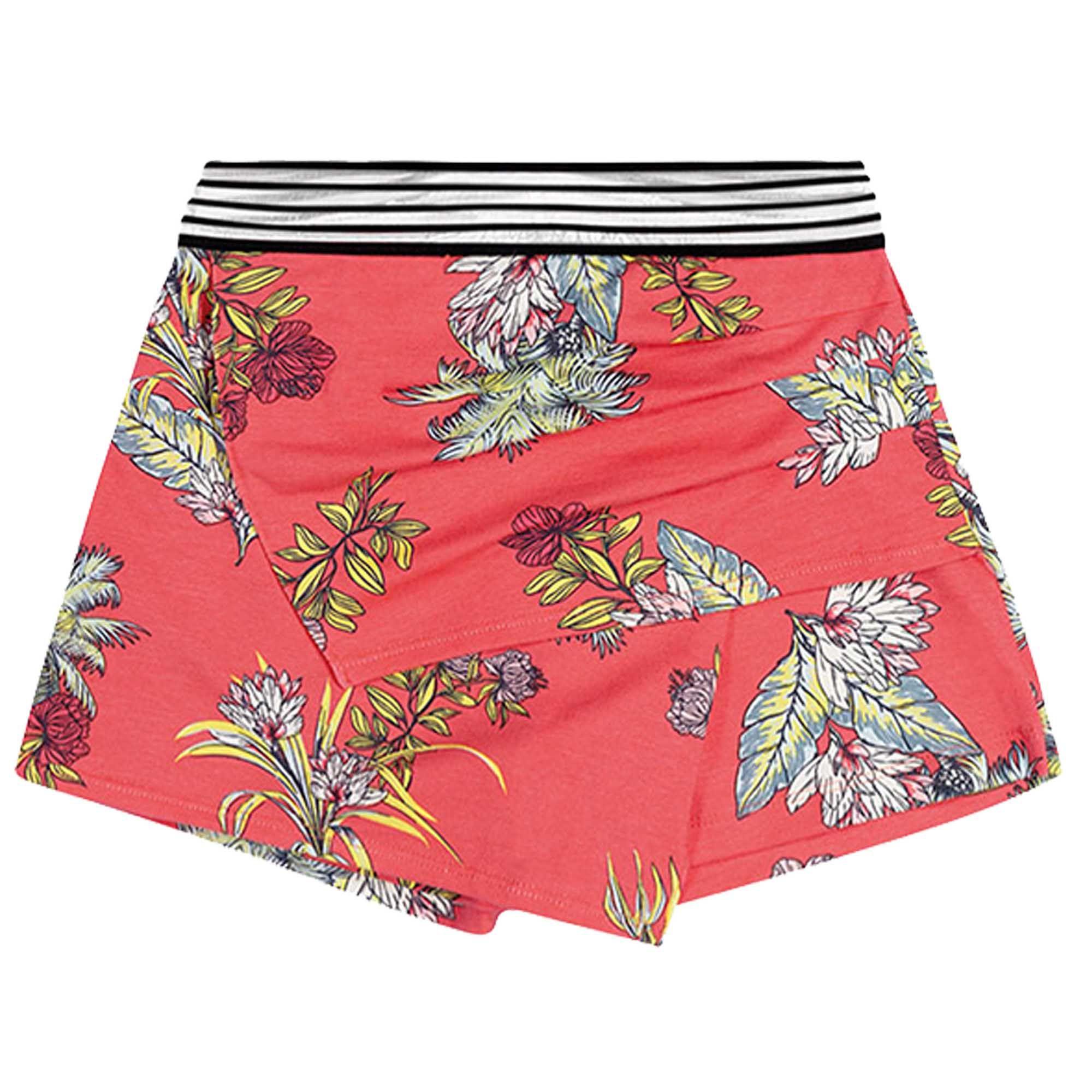 Conjunto Verão Brandili Young Regata e Shorts Saia Florido - 12 ao 16